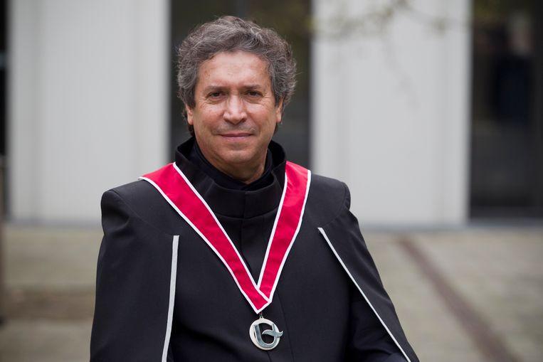 Franco Dragone kreeg vorig jaar een eredoctoraat aan de Universiteit Antwerpen.
