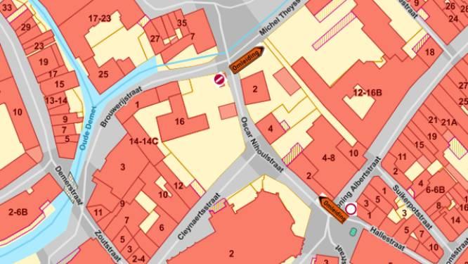 Koning Albertstraat tijdelijk afgesloten