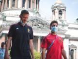 """LIVE. De Bilde: """"Lukaku moet fris blijven, ook als hij topschutter wil worden"""" - Rode Duivels maken wandeling door Sint-Petersburg"""