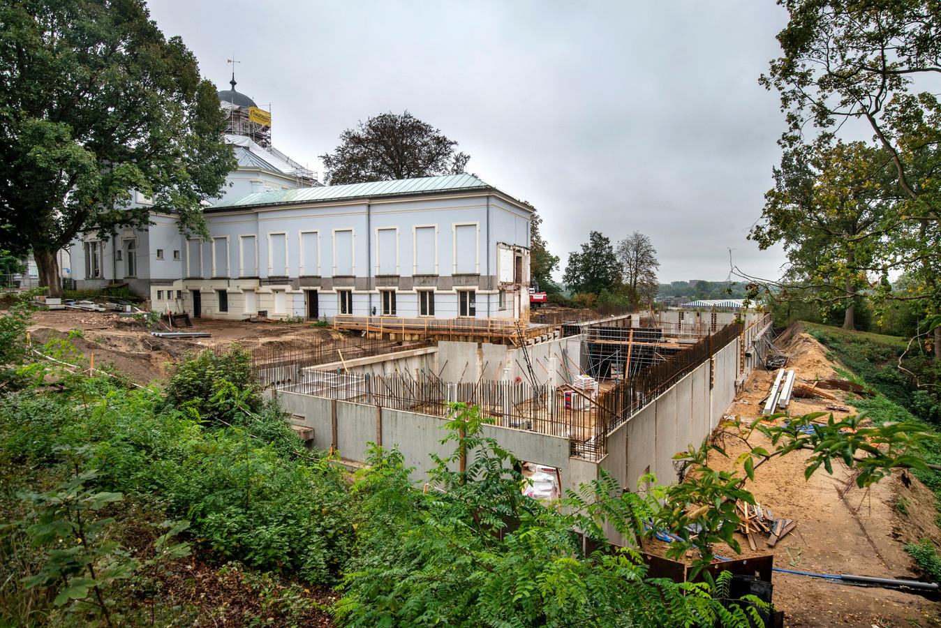 De verbouwing van Museum Arnhem ligt helemaal op schema.