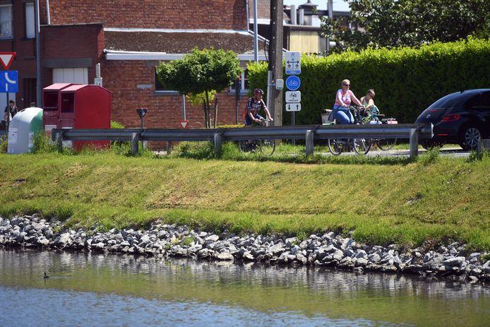 Jaagpad aan de vaart in Wijgmaal.