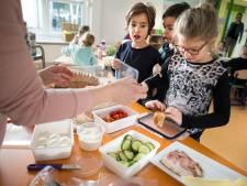 Kinderen slanker als school voor het eten zorgt