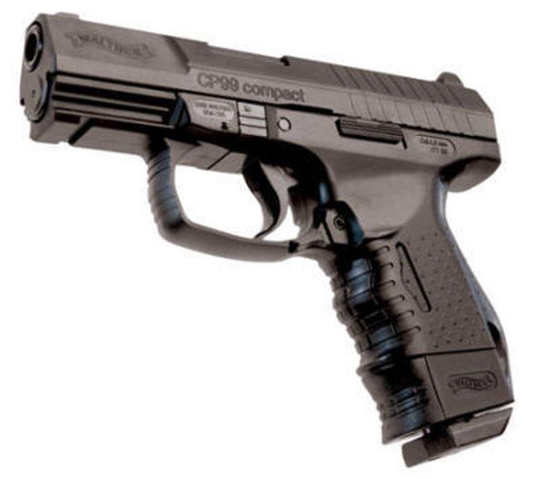 Illustratie: luchtdrukpistool