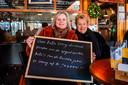 Christel Van Regemorter (53) en mama Eliane Brackx (80).
