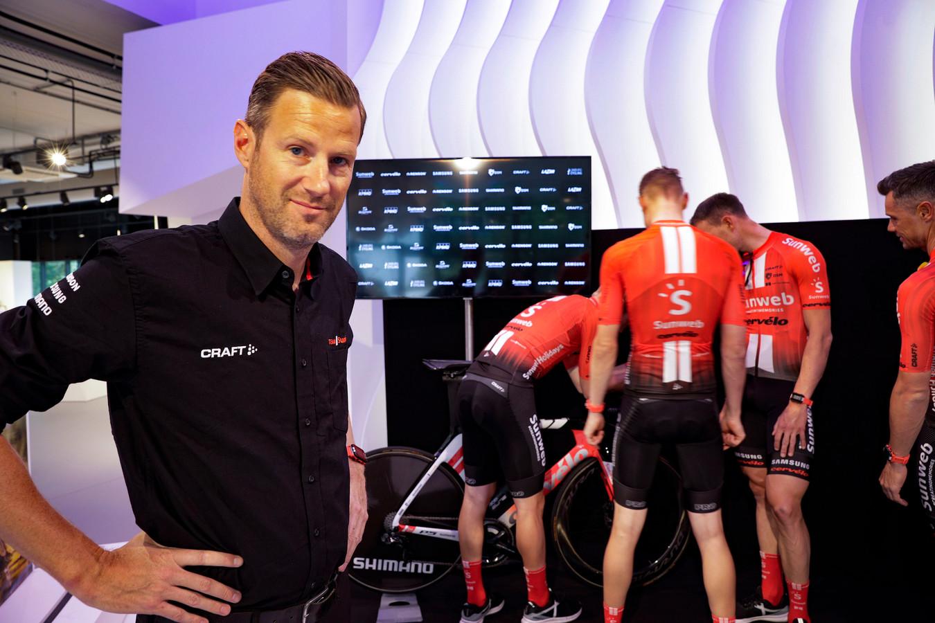 Ook ploegleider Aike Visbeek besloot te vertrekken bij Sunweb.
