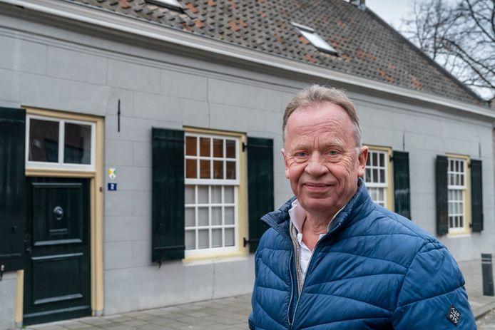 Hens van Schie van Heemkundekring Schijndel.