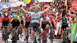 Bennett schiet na z'n hattrick in de BinckBank Tour nu ook raak in de Vuelta