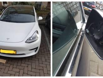 Diefstal van Tesla-buitenspiegels opvallend nieuw fenomeen in Nederland, vier verdachten opgepakt