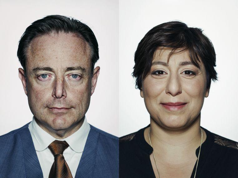 Het grote identitaire links-rechts debat: Bart De Wever versus Meyrem Almaci