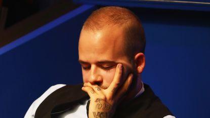 Luca Brecel sneuvelt andermaal in eerste ronde in 'Crucible'
