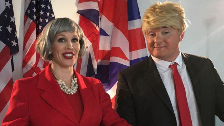 Theresa May en Donald Trump spelen mee.
