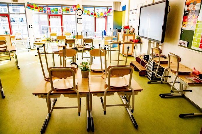 Tijdens de scholensluiting liepen kinderen leerachterstanden op.