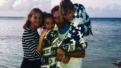 """Gwyneth Paltrow feliciteert Chris Martin  op bijzondere wijze met zijn verjaardag: """"Proficiat broer"""""""