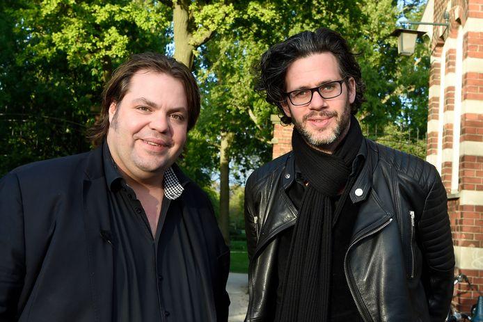 Frank Evenblij en Erik Dijkstra.