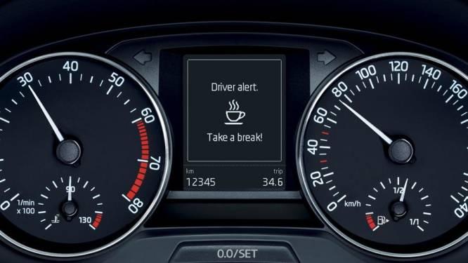Je pauzes inplannen aan de hand van de vermoeidheidsdetectie van je wagen? Geen goed idee