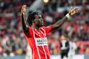 Armindo Bruma na zijn goal tegen FC Groningen, vorige maand in het Philips Stadion.