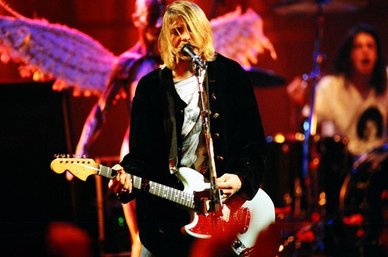 Kurt Cobain. Beeld FilmMagic
