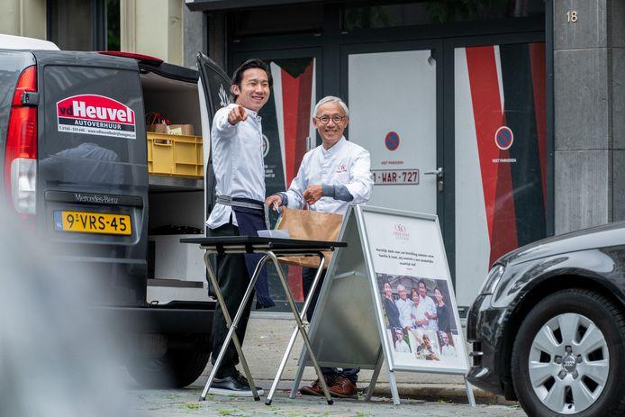 Mike en Danny Tsang van restaurant O&O in Antwerpen.