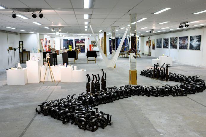 Ook het onlangs geopende Museum voor Hedendaagse Kunst in Waalwijk opent de deuren tijdens het Kunstweekeind.