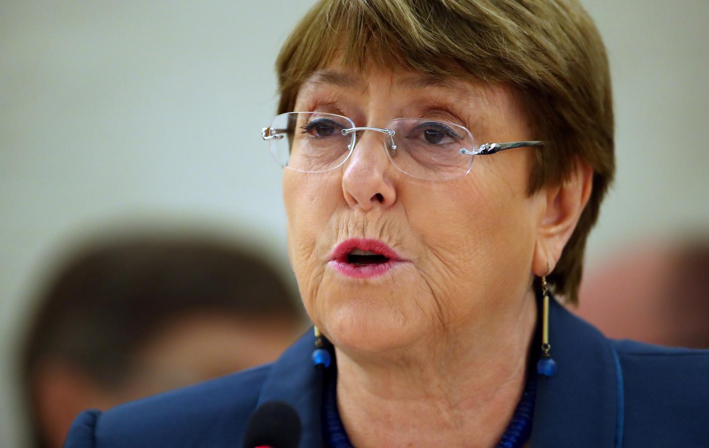 Michelle Bachelet, Haut-Commissaire de l'ONU.