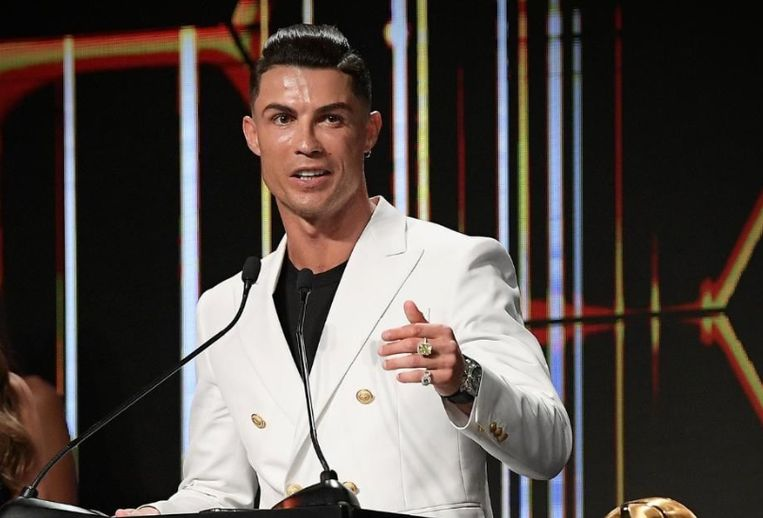 Ronaldo in Dubai.