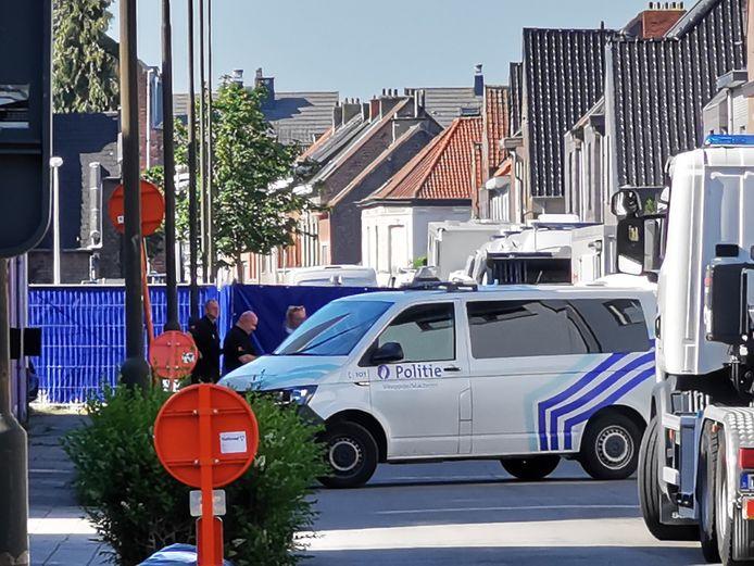Vorig jaar vond er nog een reconstructie plaats in de Hoveniersstraat in Vilvoorde.