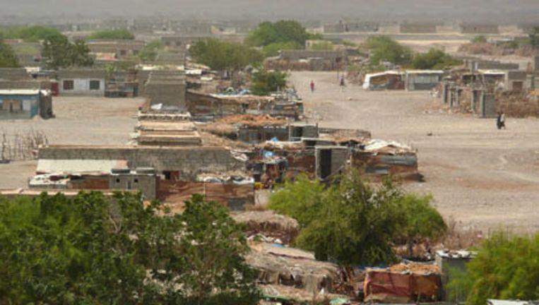 Een VN-opvangkamp in Jemen. Foto ANP Beeld