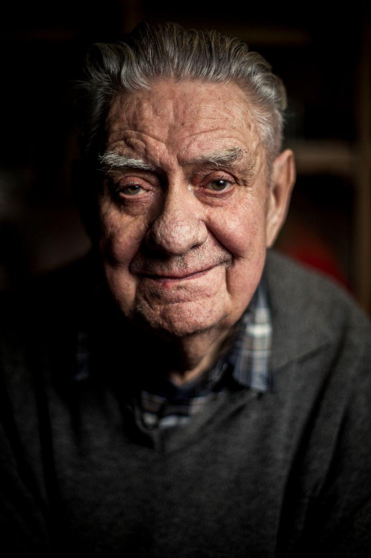Fons Verplaetse werd 90 jaar. Beeld Joost De Bock