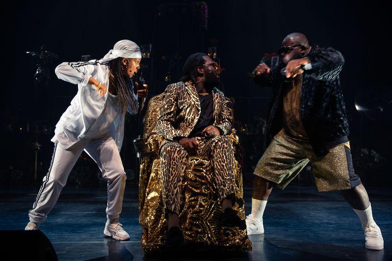 'Who's Tupac?' in de KVS. Beeld Danny Willems