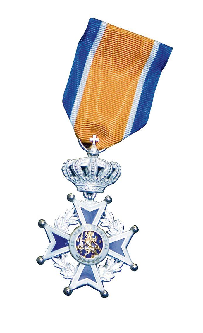 Ridder in de Orde van Oranje Nassau.
