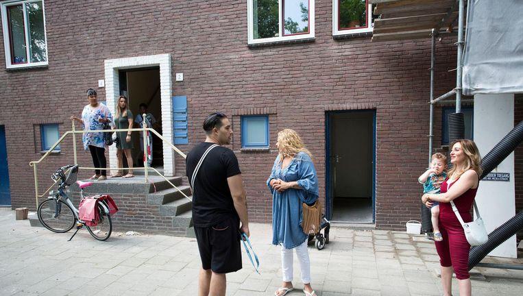 Bij Stadgenoot, met ruim dertigduizend woningen in Amsterdam, heeft de gemiddelde nieuwe huurder veertien jaar op de wachtlijst gestaan op het moment dat hij een huis accepteert. Beeld Arie Kievit / de Volkskrant