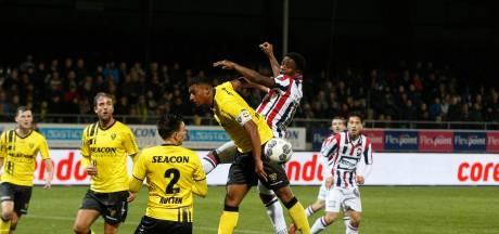 Willem II won ooit maar een keer van VVV Venlo in stadion de Koel