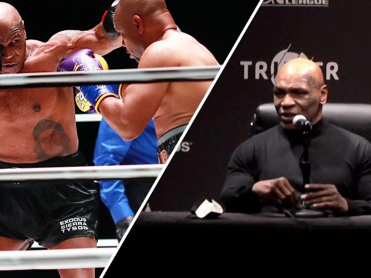 Tyson: 'Blij dat ik niet knock-out ben geslagen'