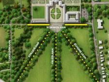 Eeuwenoude bomen bij Paleis Het Loo gaan om, Apeldoornse lanen volledig vernieuwd