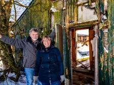 Willy en Aart uit Wijhe toveren vervallen schuur om in plek voor mensen in nood: 'Onze droom wordt werkelijkheid'