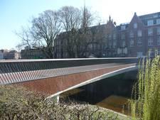 Verlichting van nieuwe Mariabrug 'met grof' geweld beschadigd
