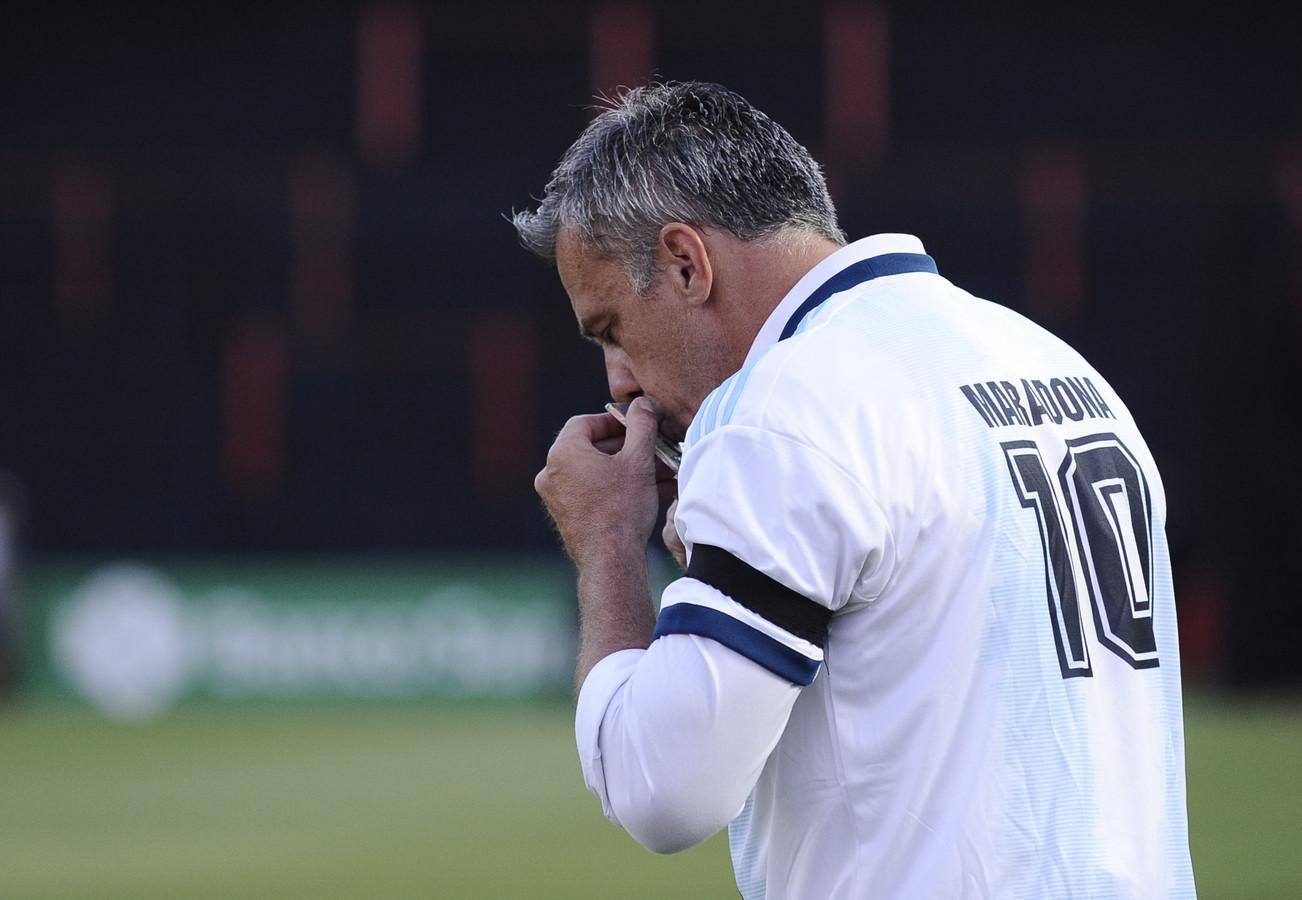 Independiente-trainer Lucas Pusineri.