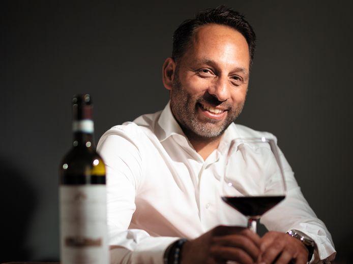 Prijswinnende vinoloog Alessandro Matrone.