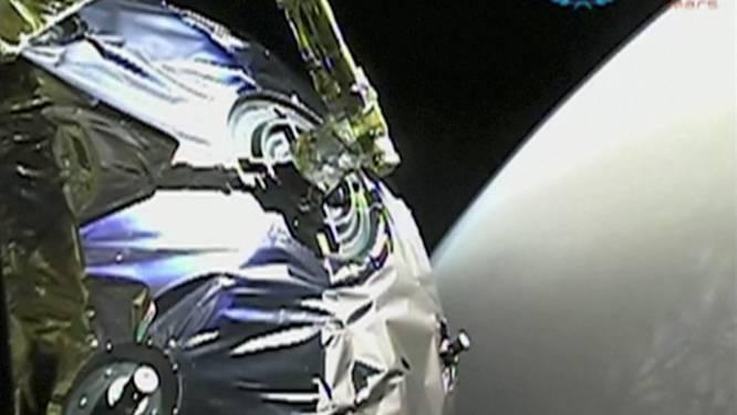 Chinese sonde stuurt videobeelden door van Mars