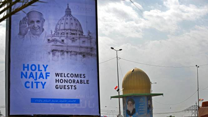 """Le pape aux Irakiens: """"Je viens en pèlerin de paix après des années de guerre"""""""