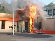 Bibliotheek Emmeloord na brand voorlopig gesloten