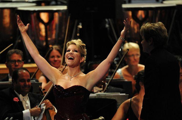 Joyce DiDonato in de Royal Albert Hall in 2013. Beeld anp