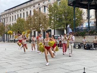 Schoon Vertier in het stadscentrum: band en danseressen strijken neer op vier plekken in Gent