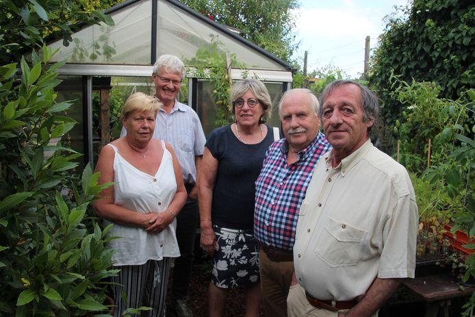 In 2019 schonk Johan Props (rechts vooraan) 100 euro aan het Sint-Vincentiusgenootschap.
