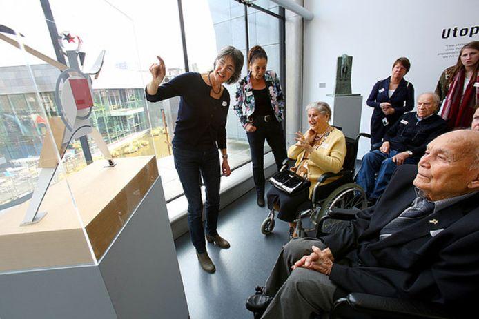 Het Alzheimer-programma in het Van Abbemuseum.
