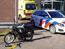 Brommerrijder gewond bij ongeluk in Dongen
