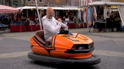 Deze man kiest voor een botsauto in plaats van een scootmobiel