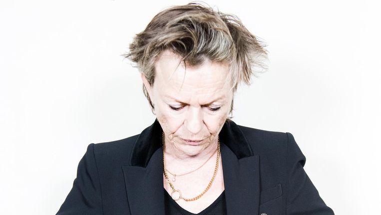 Connie Palmen: 'Het is werkelijk een gevaarlijk iets om het publieke domein te betreden.' Beeld Sanne De Wilde