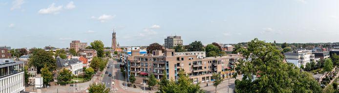 Het Nefkensgebouw ligt op steenworp afstand van de binnenstad.