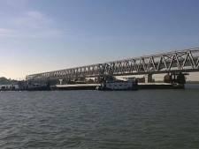 Scheurtjes in spoorbrug Moerdijk: drie dagen geen treinverkeer
